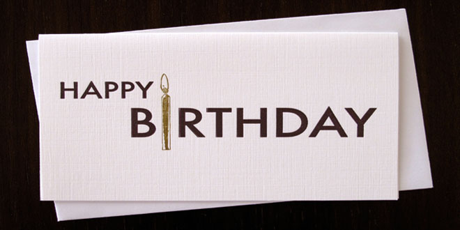 Top 10 Most Gifted Birthday Gift Cards