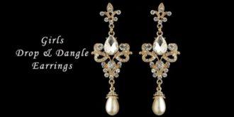 Top 10 Most Wished Girls Drop & Dangle Earrings