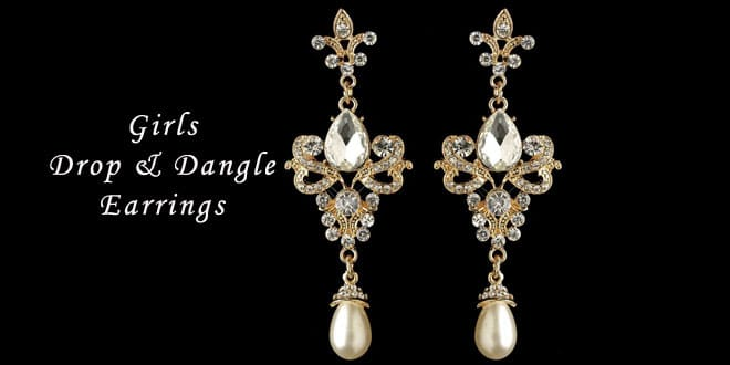 Top 10 Most Wished Girls Drop & Dangle Earrings