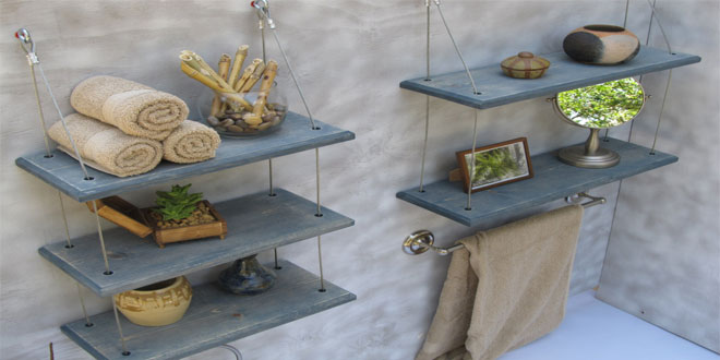 10 Top Rated Products in Bathroom Shelves