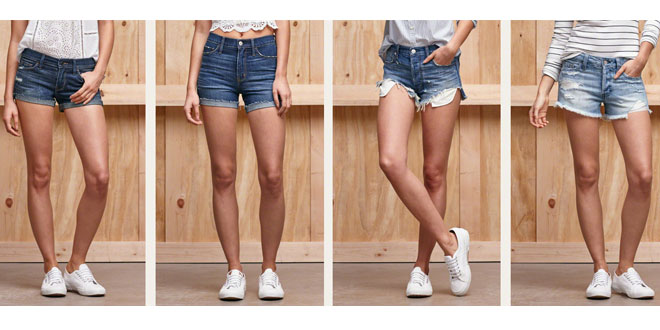 Top 10 Hot New Womens Denim Shorts