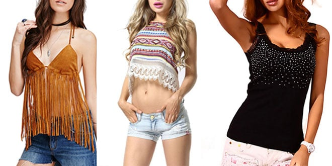 Top 10 Hot New Womens Tanks & Camis