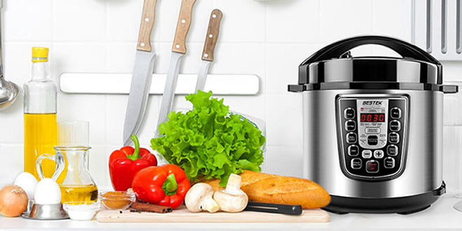 BESTEK Programmable Pressure Cooker