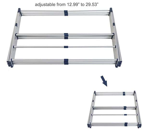 The Drynatural Drying Rack Expandable 3-Tier Clothes Airer Review - 2