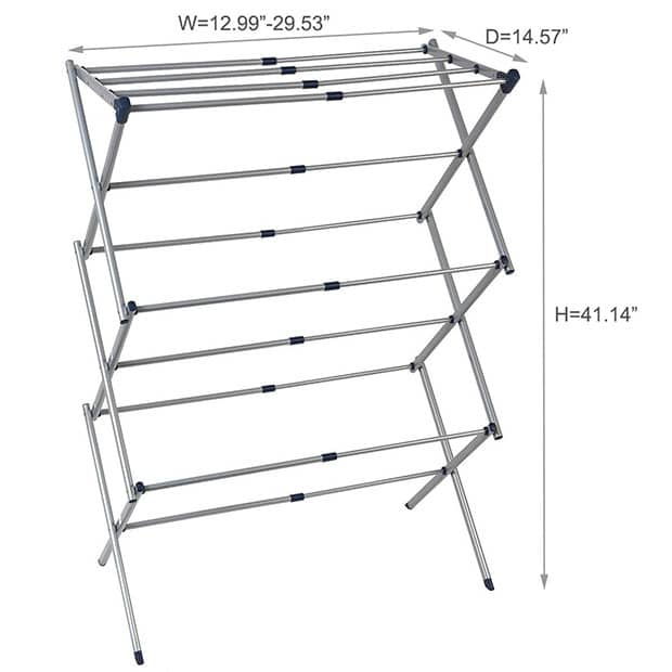 The Drynatural Drying Rack Expandable 3-Tier Clothes Airer Review - 3