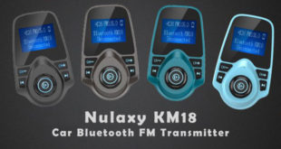 Nulaxy KM18 Car Bluetooth FM Transmitter