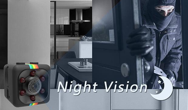 Ehomful E-SQ11 Mini Spy Camera - 5