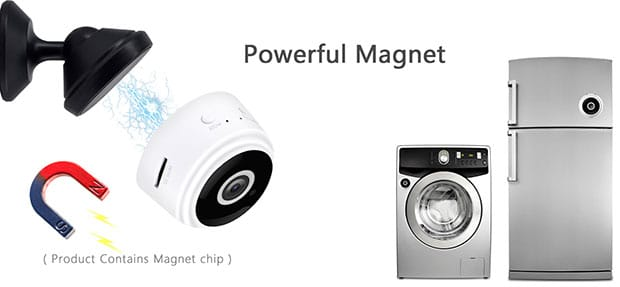 Ehomful E19 Mini WiFi Hidden Camera - 6