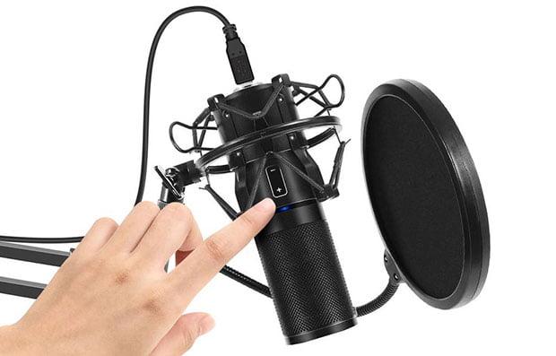 TONOR Q9 USB Microphone Kit - 3