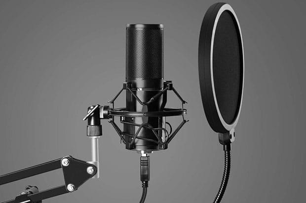 TONOR Q9 USB Microphone Kit - 5