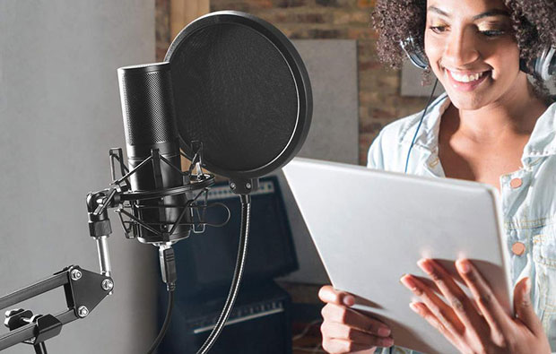 TONOR Q9 USB Microphone Kit - 7