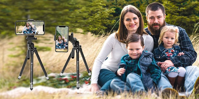 Fotopro Phone Tripod Review – A Lightweight Travel Tripod Comes with Bluetooth Remote