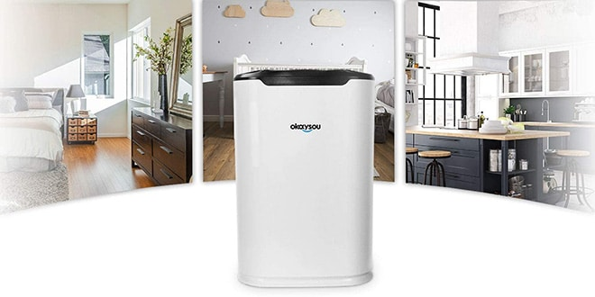 Okaysou AirMax8L Air Purifier Review – Comes with ULTRA-DUO Filter