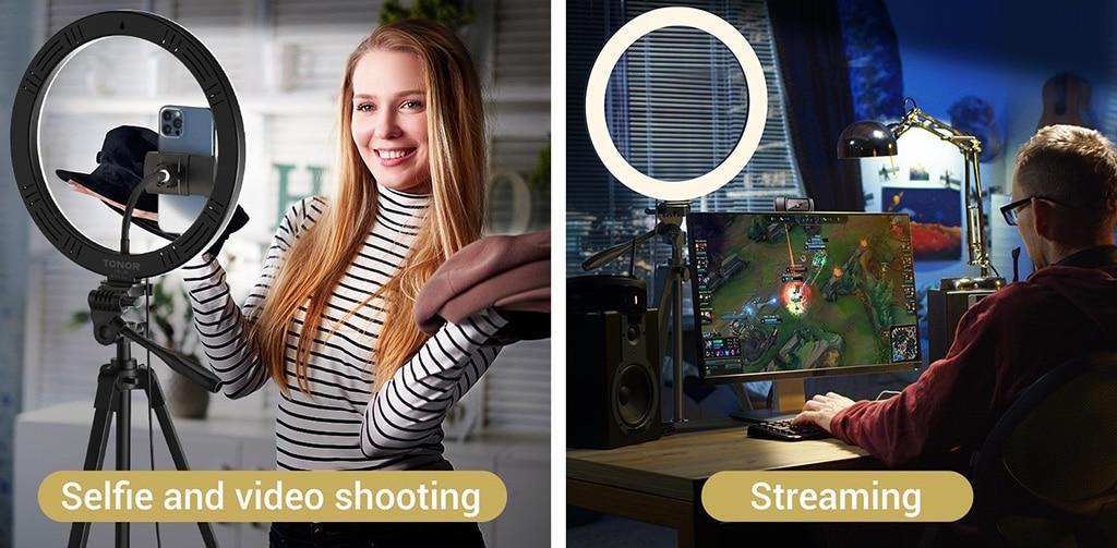 Selfie Video Shooting and Streaming